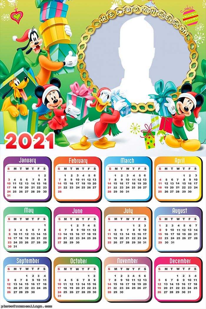 Christmas Tree Mickey Disney Calendar 2021