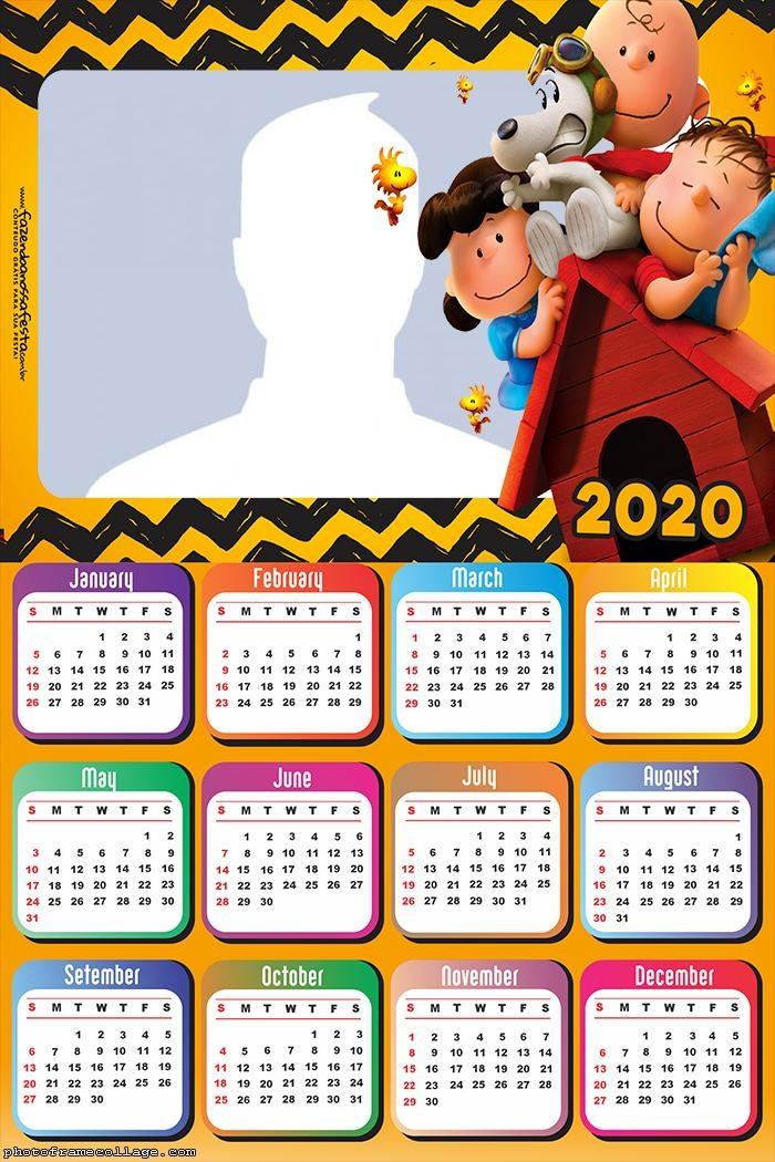 Snoopy Calendar 2020