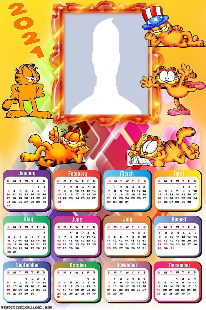 Garfield Calendar 2021