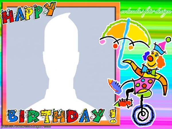 Happy Birthday Photo Frame Editor