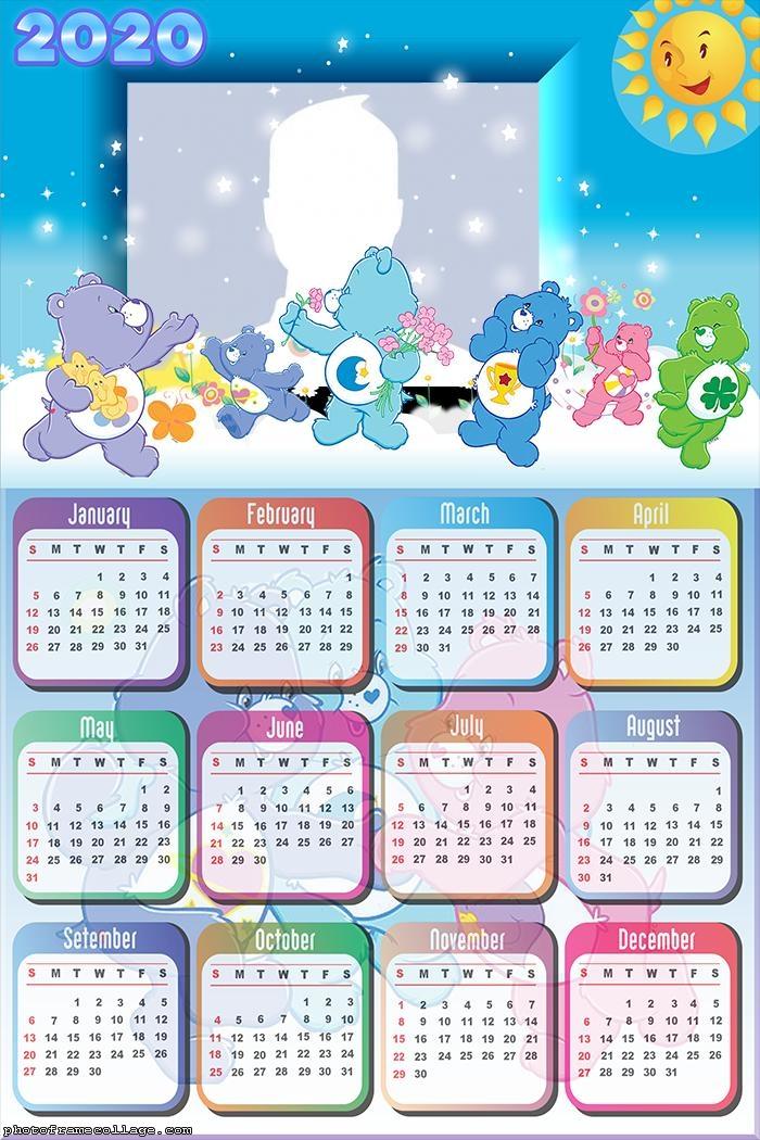 Care Bears Calendar 2020