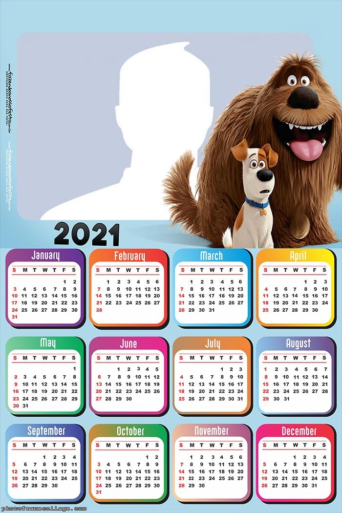 The Secret Life of Pets Calendar 2021