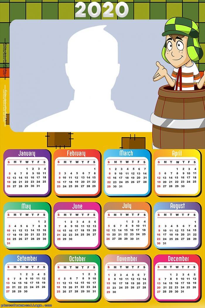 El Chavo del Ocho Calendar 2020