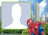 Spiderman in the City Photo Montage