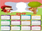 Little Red Riding Hood Calendar 2019