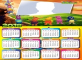 Calendar 2018 The Backyardigans Cast