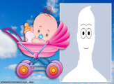 Baby Stroller Make a Photo Collage Online
