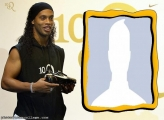 Photo Montage Ronaldinho Gaucho