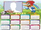 Calendar 2021 Woody Woodpecker