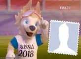 Drawing Russia Cup Mascot