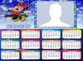 Minnie Mouse Calendar 2020