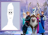 Picture Collage Frozen Movie
