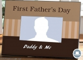First Fathers Day Photo Collage