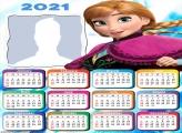 Anna Frozen Calendar 2021