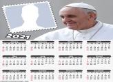 Calendar 2021 Pope Francis