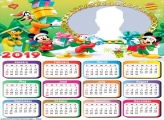 Mickey Christmas Gifts Calendar 2019
