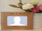 No 1 Dad Happy Fathers Day