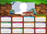 Minecraft Dungeons Calendar 2021