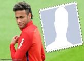 Neymar Hair Frame