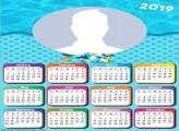 Beach Baby Calendar 2019