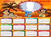 Lilo and Stitch Calendar 2019