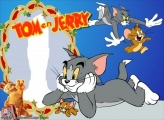 Tom and Jerry Photo Collage