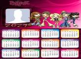 Calendar 2021 Bratz Dolls