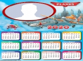 Frame Picture Planes Calendar 2020