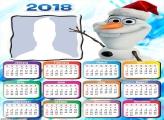Calendar Olaf 2018