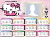Hello Kitty Baby Calendar 2019