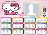 Hello Kitty Baby Calendar 2019