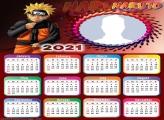 Calendar 2021 Naruto Uzumaki