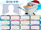 Olaf Frozen Calendar 2019