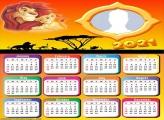 Lion King Calendar 2021