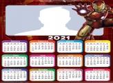 Iron Man Helmets Calendar 2021