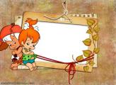 Pebbles and Bamm-Bamm The Flintstones