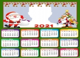 Calendar 2021 Christmas Decoration