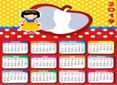 Snow White Princess Calendar 2019