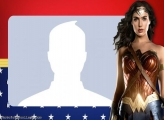 Wonder Woman Photo Collage