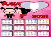 Calendar 2021 Pucca