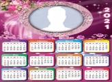 Calendar 2021 Flowers