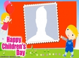 Happy Children Day Frame