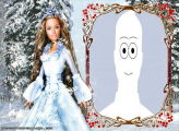 Barbie in the Snow Picture Collage