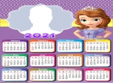 Calendar 2021 Sofia the First