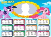 Calendar 2020 myLittlePony Frames for Pictures Free