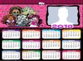 Calendar 2018 Monster High