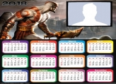 Calendar 2018 God of War