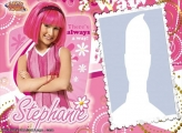 Photo Montage Stephanie Lazy Town