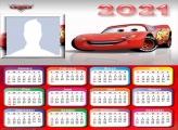 Calendar 2021 Lightning McQueen