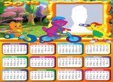 Calendar 2018 Barney